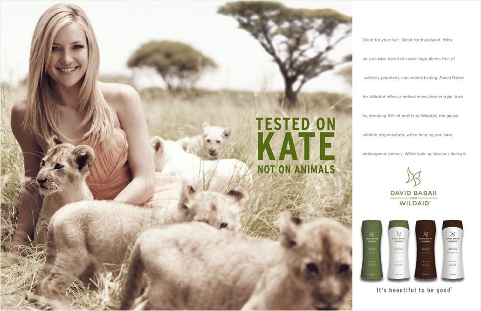 Wildaid Kate Hudson